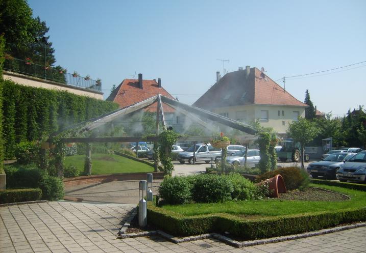 Brumisateurs pour espaces urbains